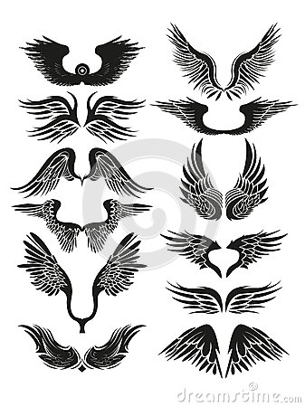 TRIBAL WINGS Stock Vector Image 41316993