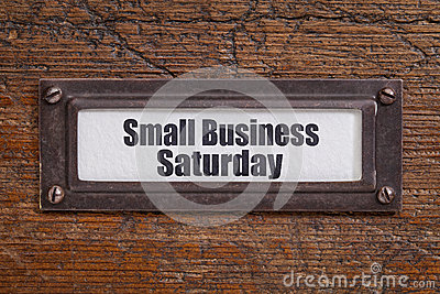 Small Business Saturday Stock Photo Image 44065013