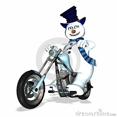 Snowman Chopper 1 Royalty Free Stock Photos Image 1491198