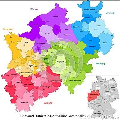 TU Dortmund Life Is How You Make It - Germany map nrw