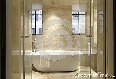 Two Windows Of The Bathroom Stock Photo Image 52075749