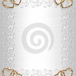 Wedding Invitation Heart Frames