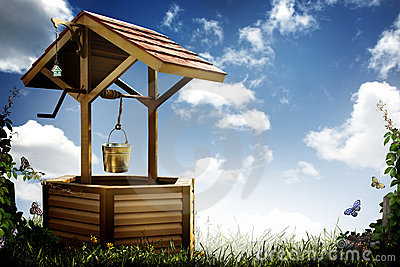 Wishing Well Royalty Free Stock Images Image 20260749