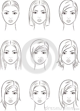 Womens Faces Stock Photos Image 31683663