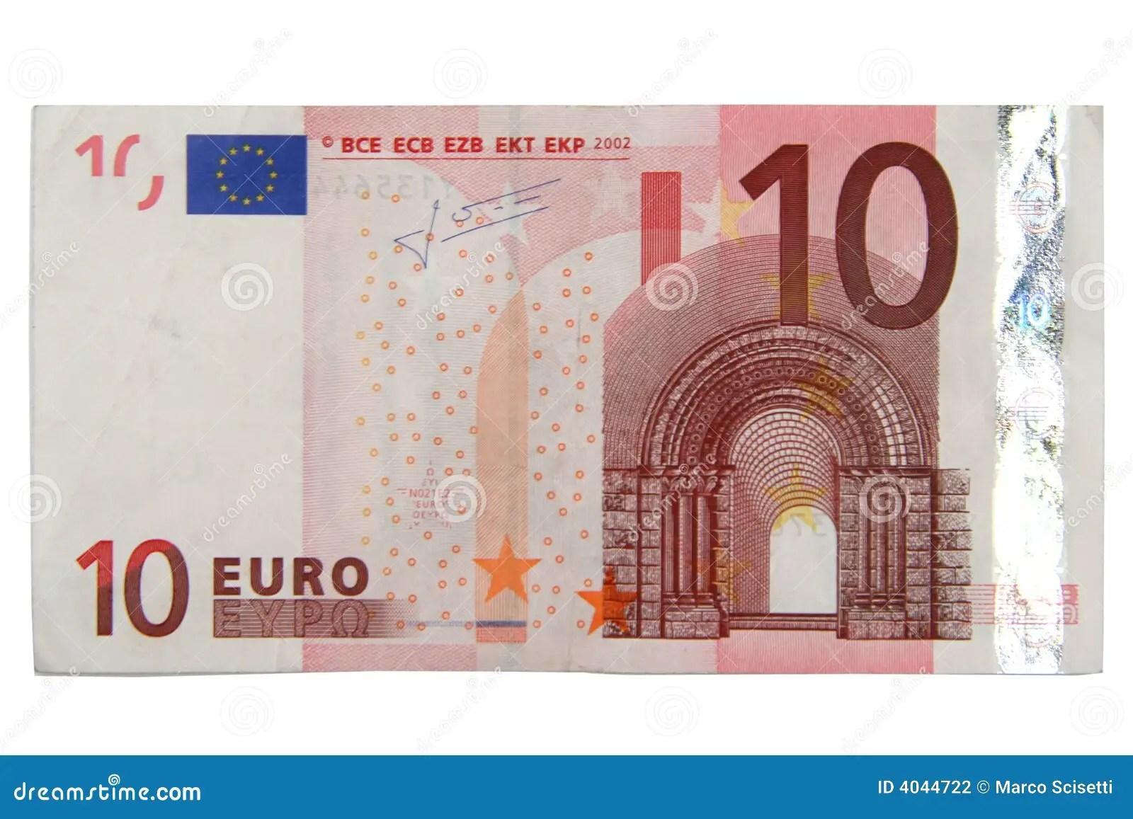 10 Euro Photographie Stock Image 4044722