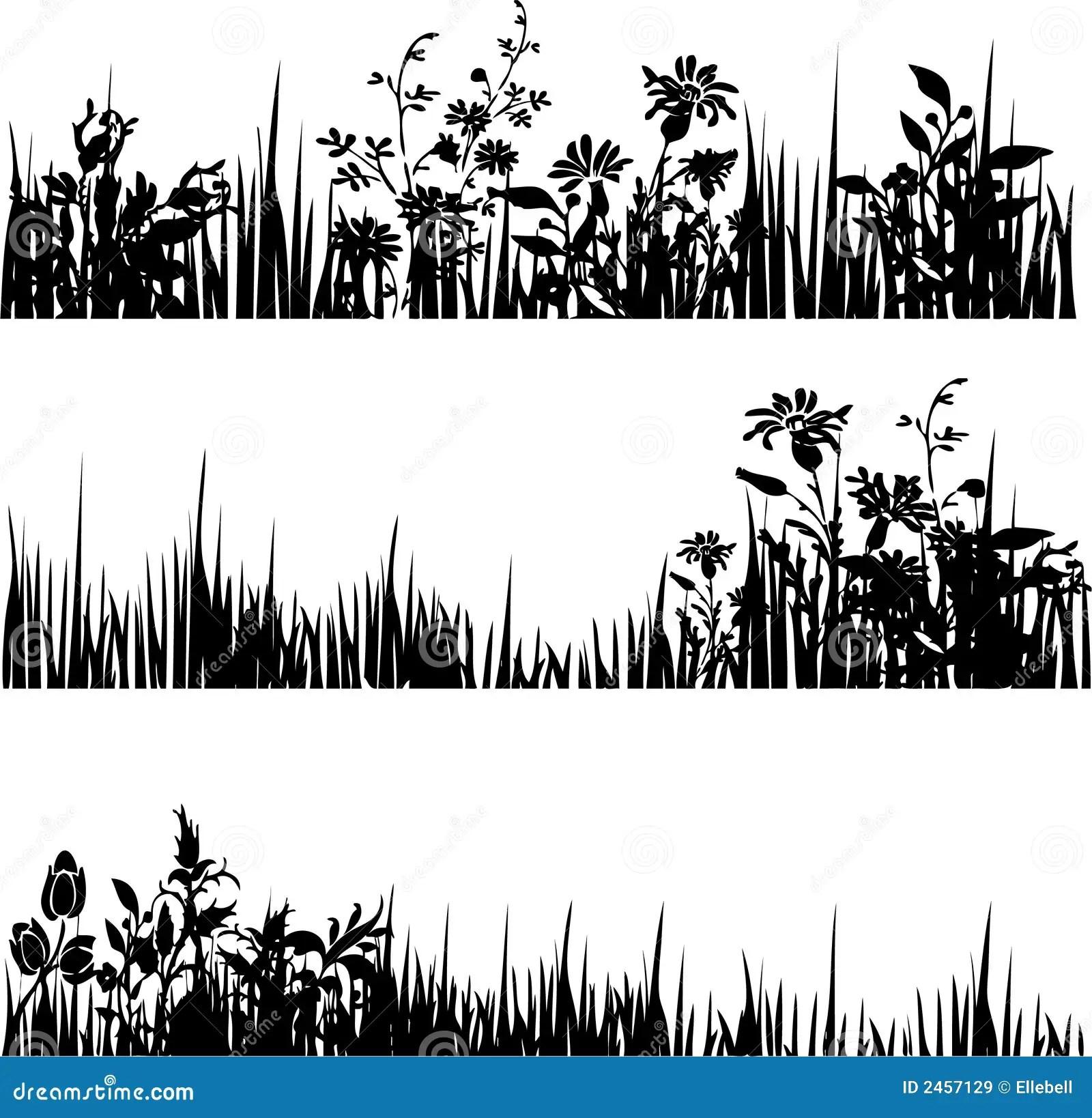 3 Foliage Dividers Stock Vector Illustration Of Design