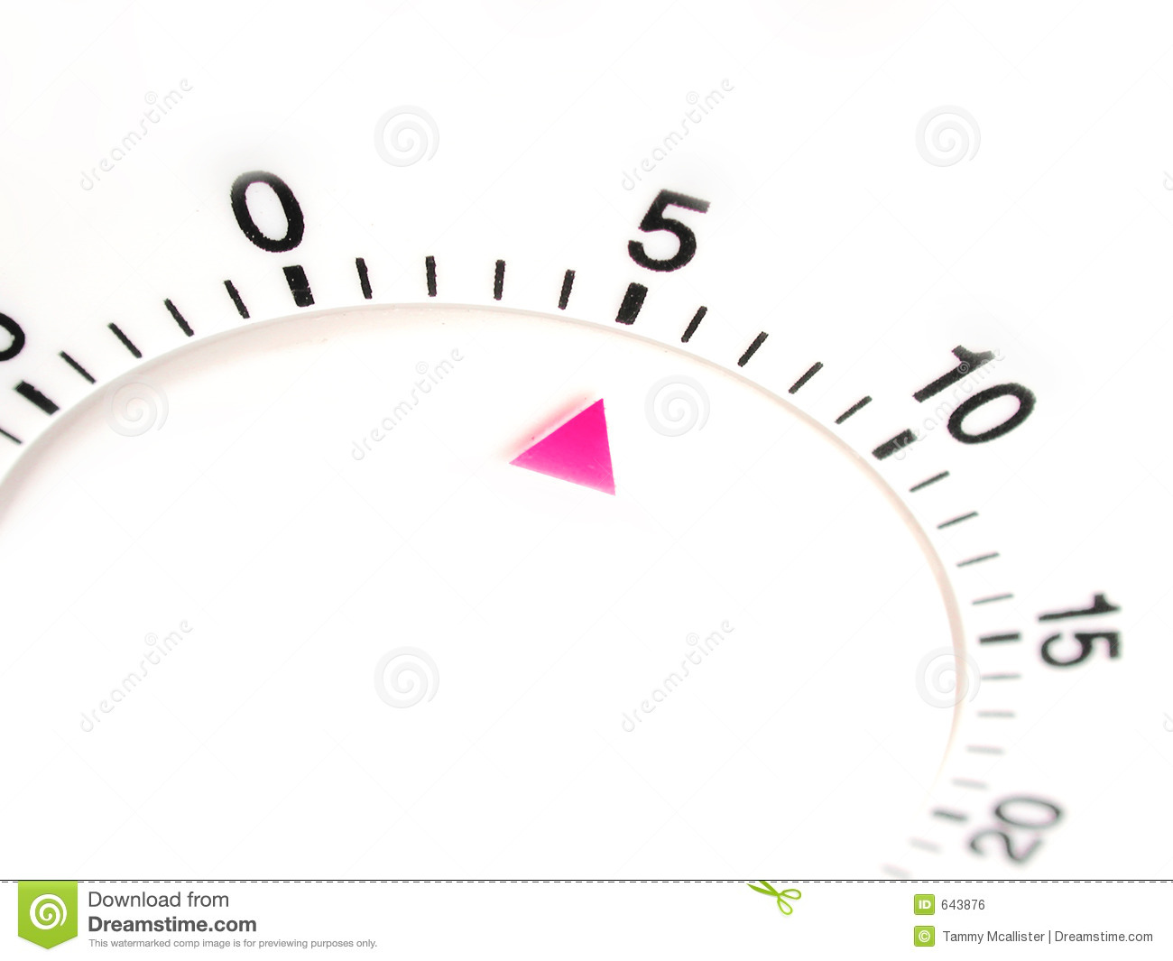 5 Minutes On Timer Stock Illustration Illustration Of