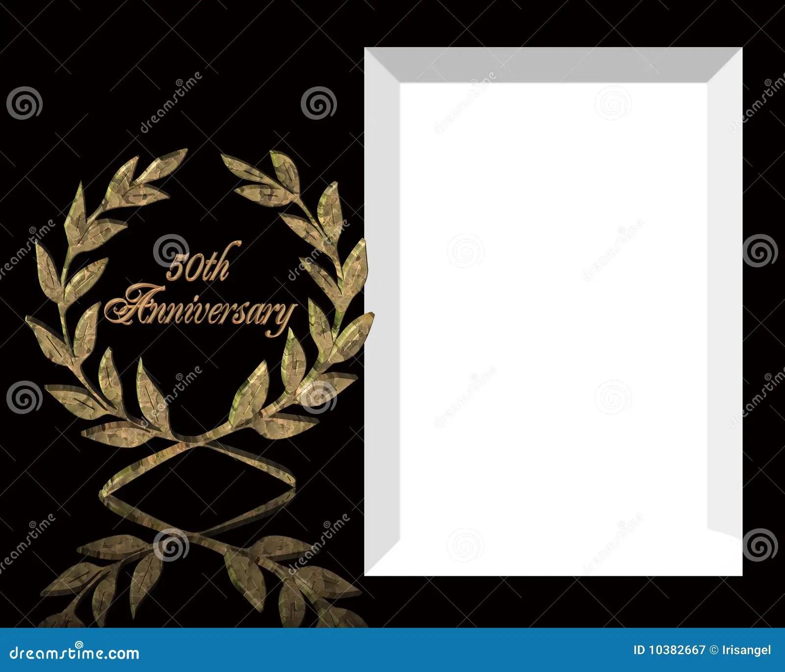 Wedding Anniversary Template anniversary invitation template card – 50th Wedding Anniversary Invitation Templates