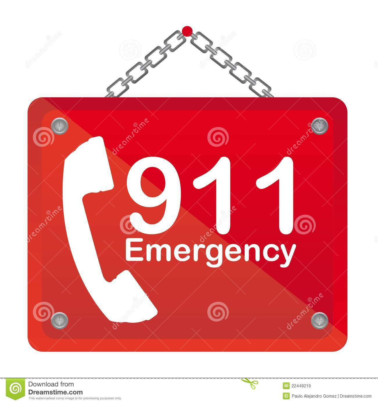 911 Emergency Royalty Free Stock Images