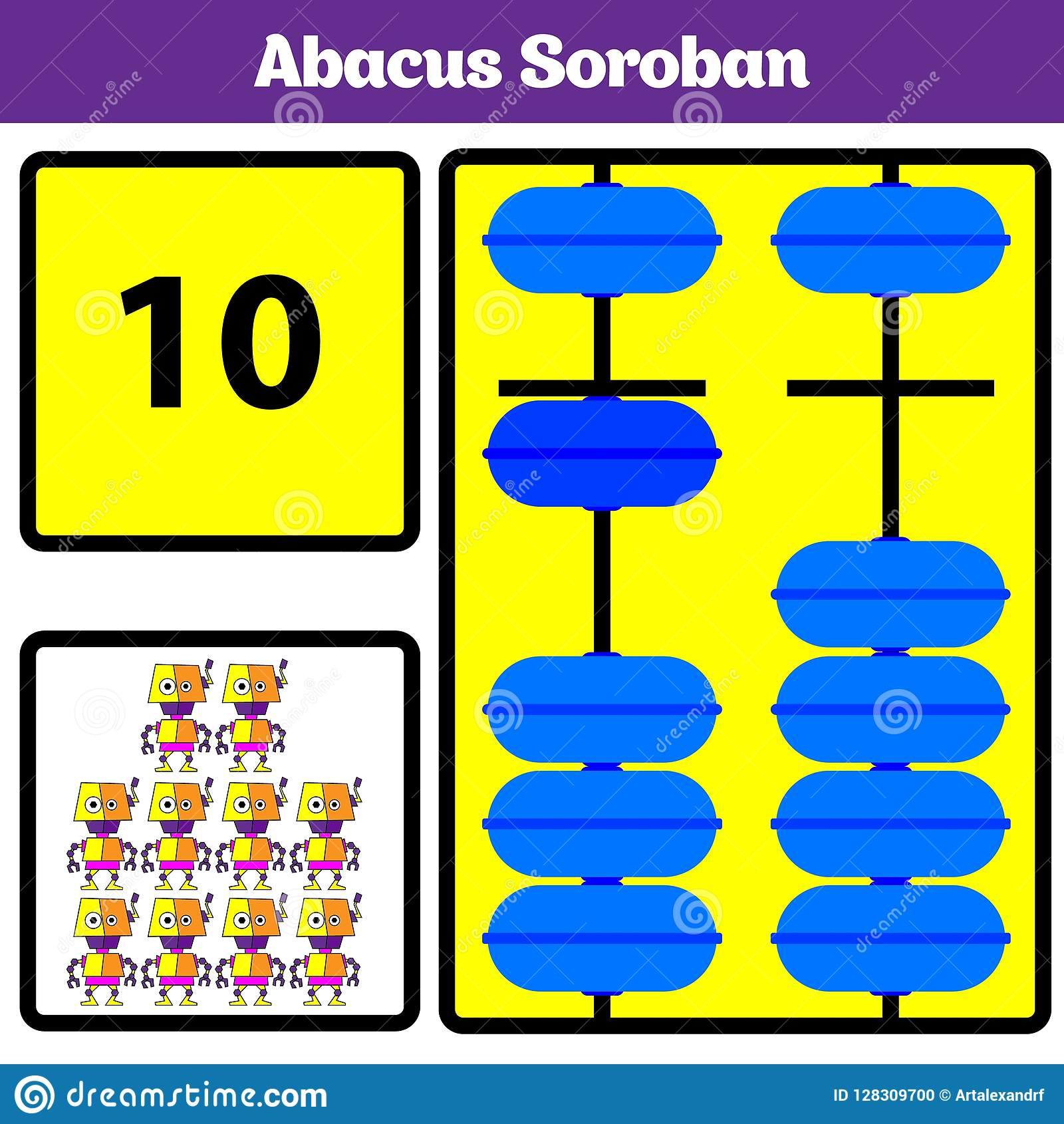 Abacus Soroban Kids Learn Numbers With Abacus Math
