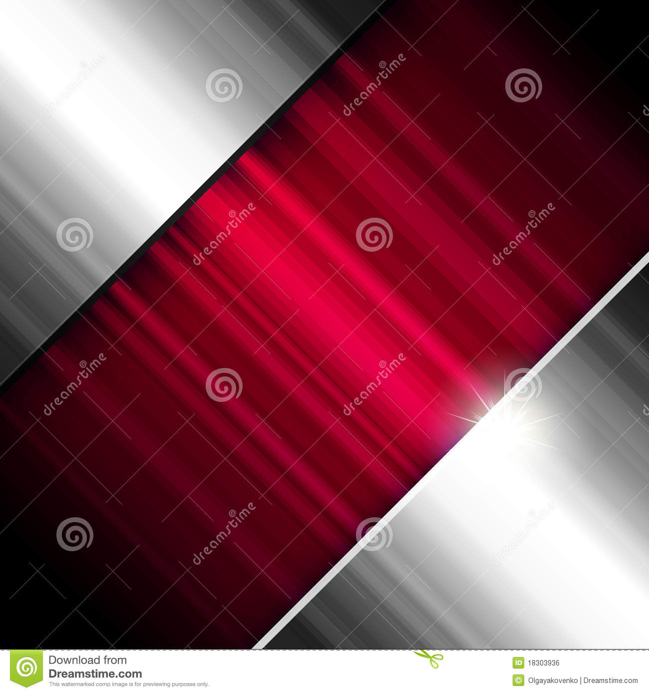 Abstract Background Metallic And Red Royalty Free Stock Image Image 18303936