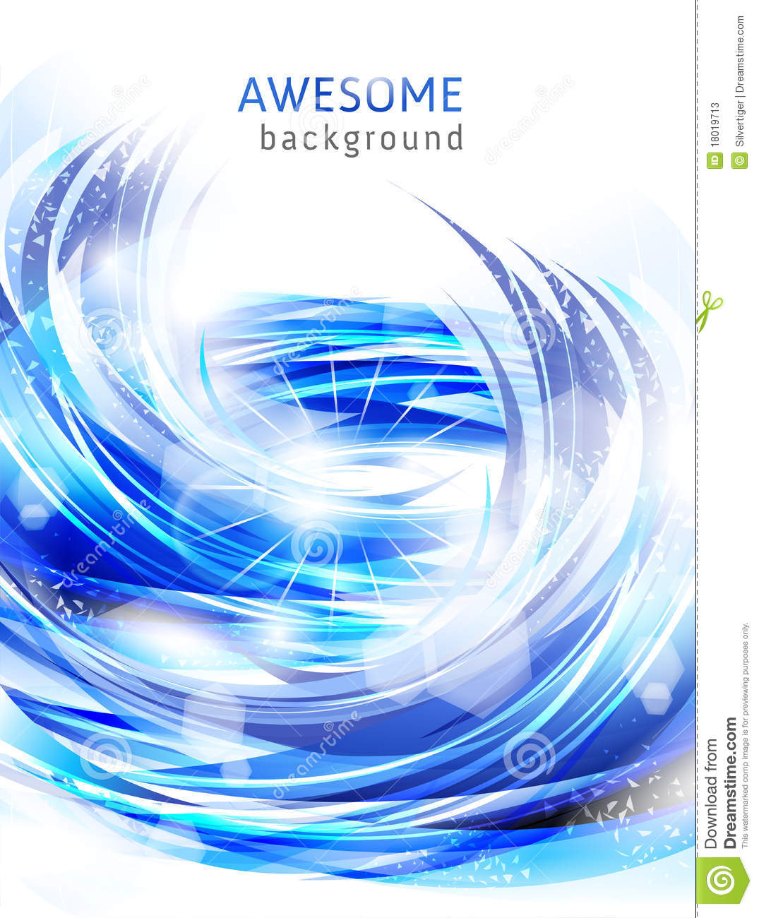 Abstract Blue Backgrounds With Water Splash Stock Photos Image 18019713