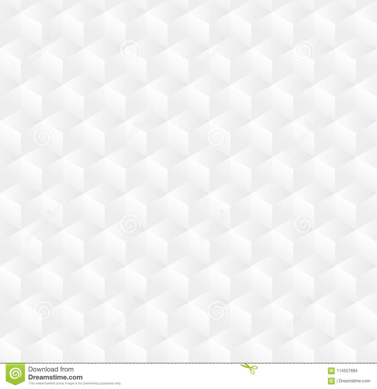 Abstract 3d Cube Pattern Background White 3d Box Seamless