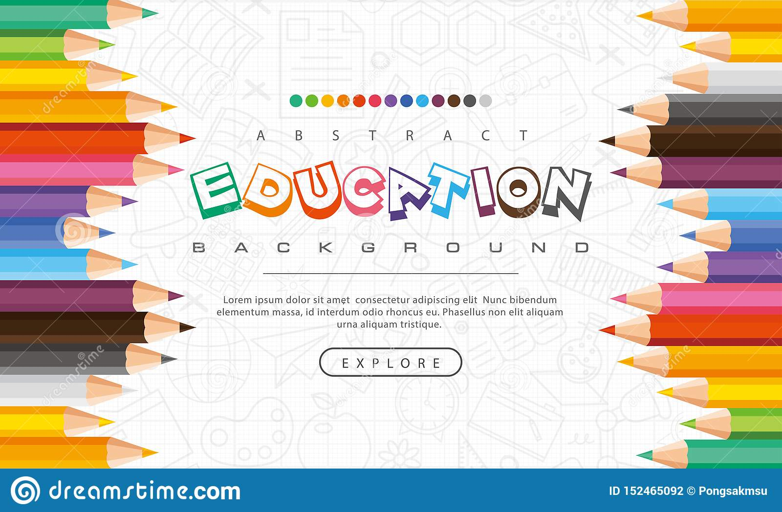 Abstract Education Background Back To School Learning