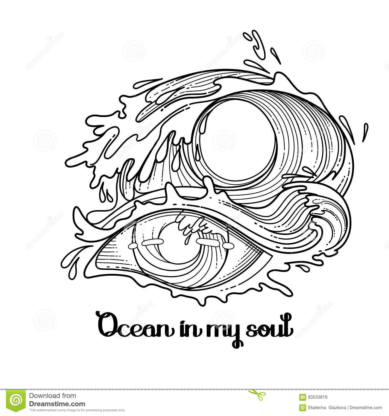 Abstract Graphic Eye Stock Vector Illustration Of Artwork