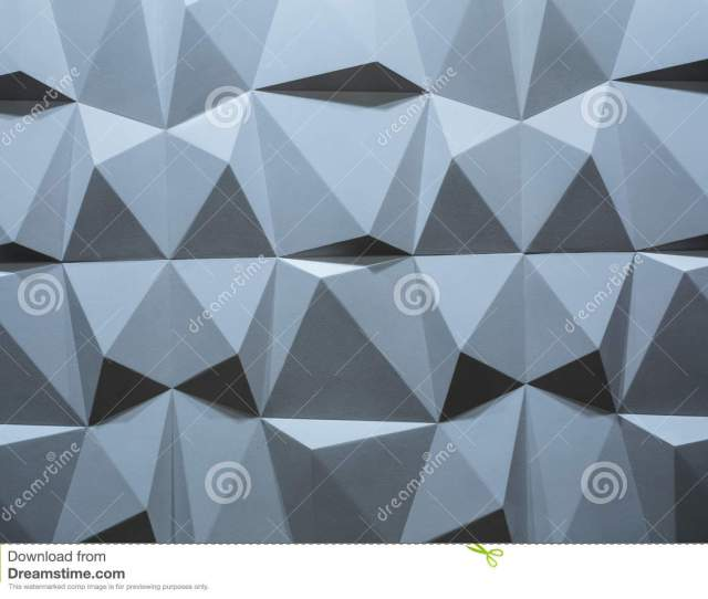 Abstract Wallpaper Or Geometrical Background Consisting Of Blue Geometric Shapes Triangles And Polygons