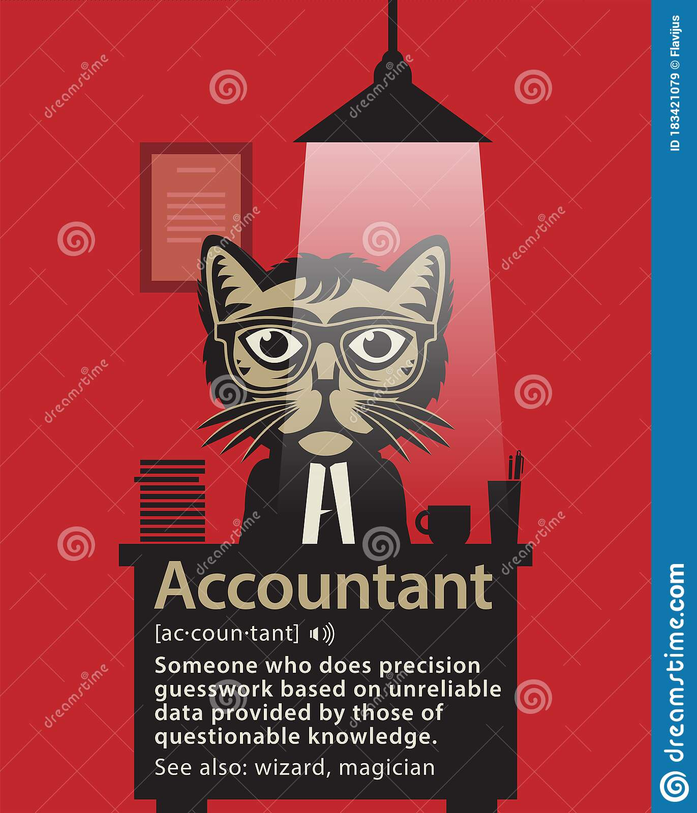 Accountant Definition Funny Accounting Noun Meaning Stock