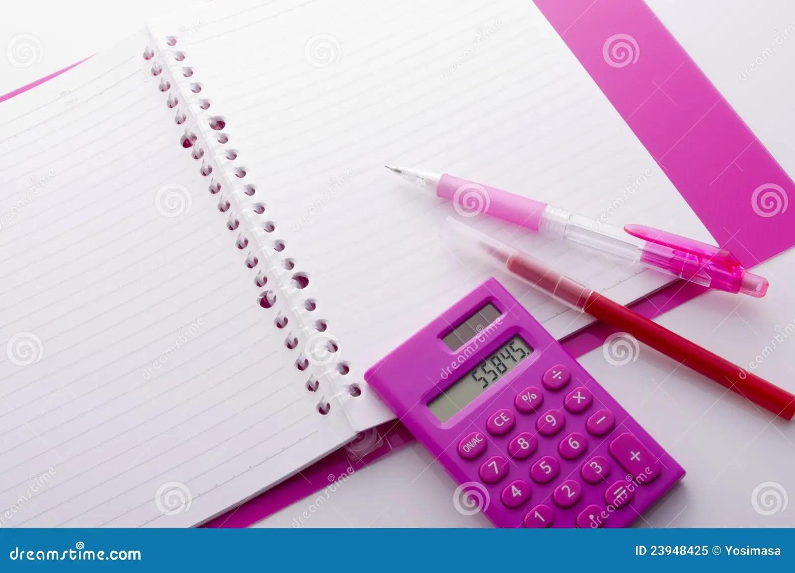 Accounting Tools Royalty Free Stock Photo