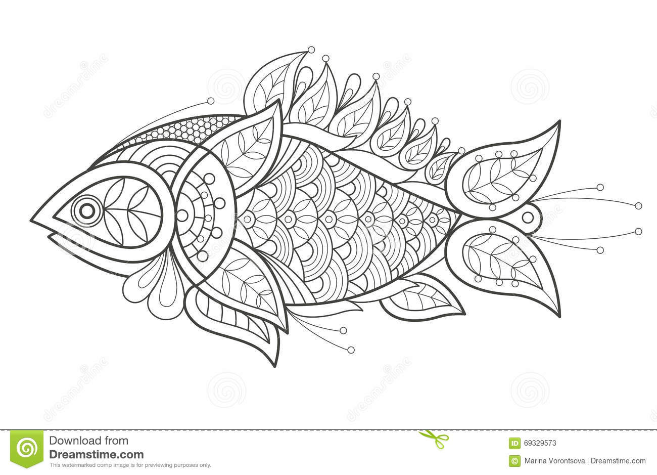 Sea Cucumber Coloring Pages