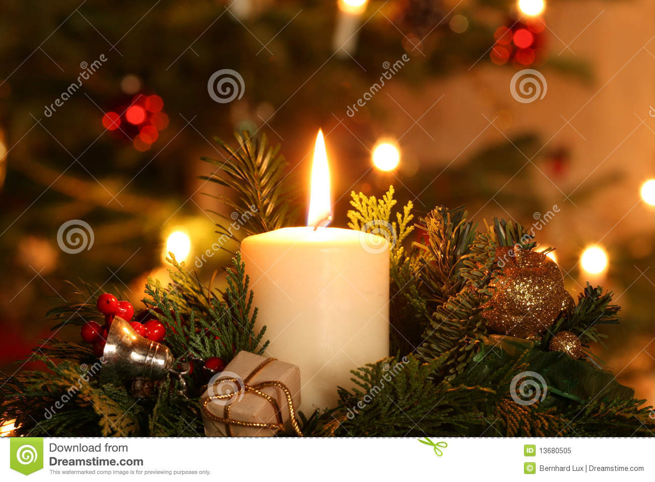 Advent Candle Royalty Free Stock Photo Image 13680505