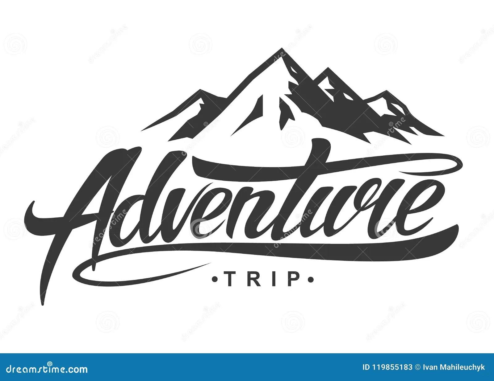 Adventure Vintage Logo Stock Vector Illustration Of