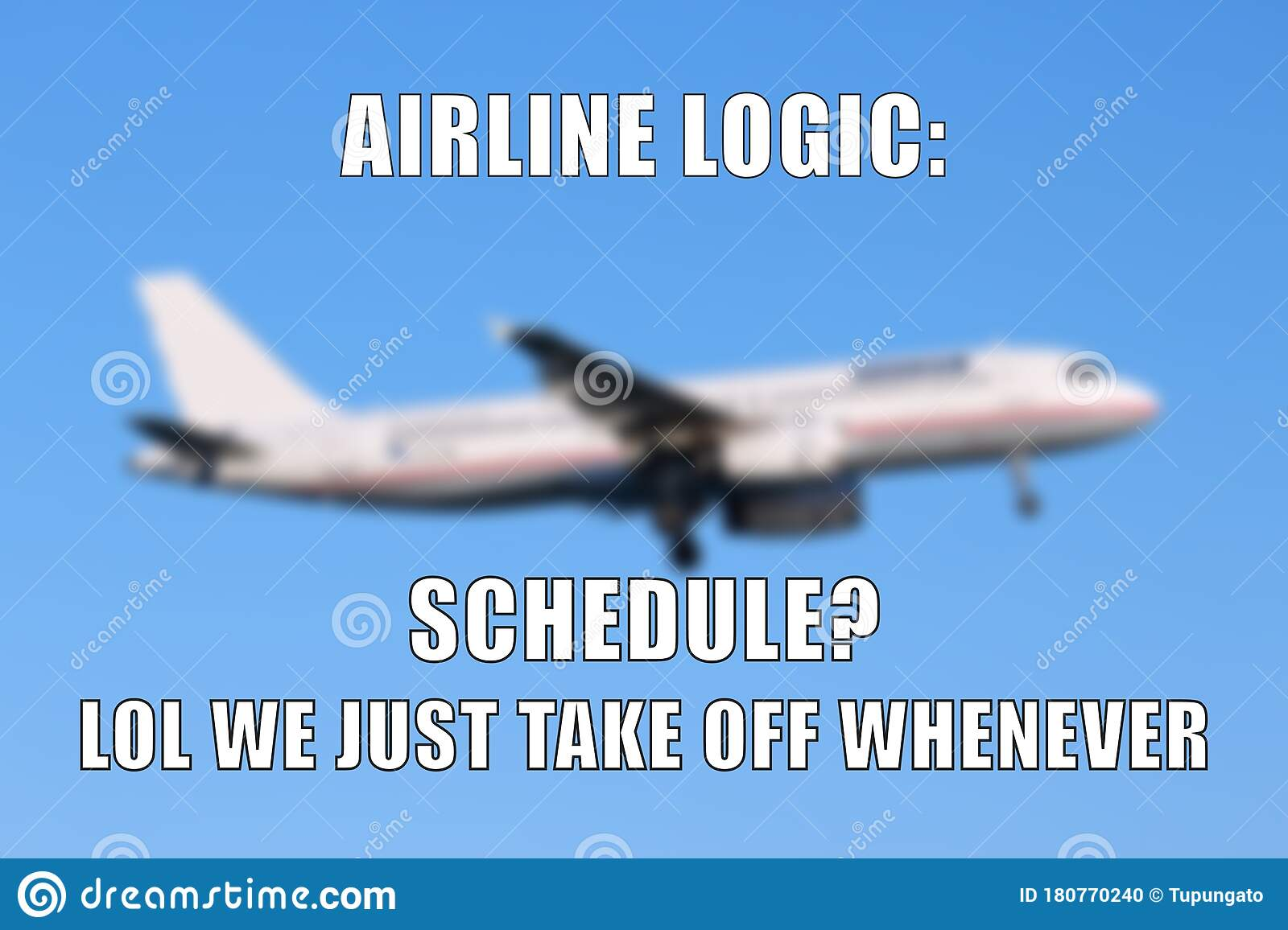 My Plane Is Here Meme