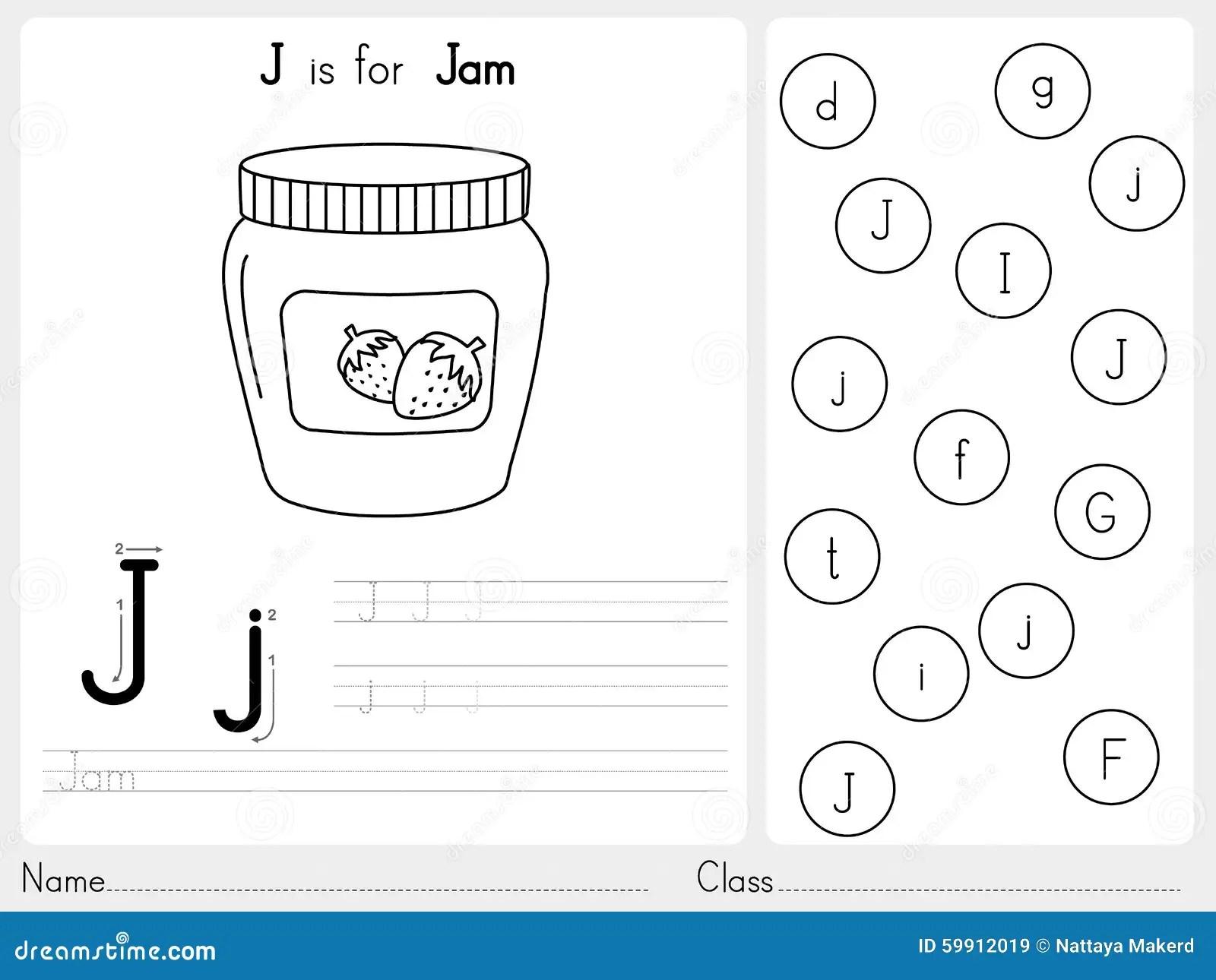 Alfabeto A Z Tracing E Foglio Di Lavoro Di Puzzle Esercizi Per I Bambini