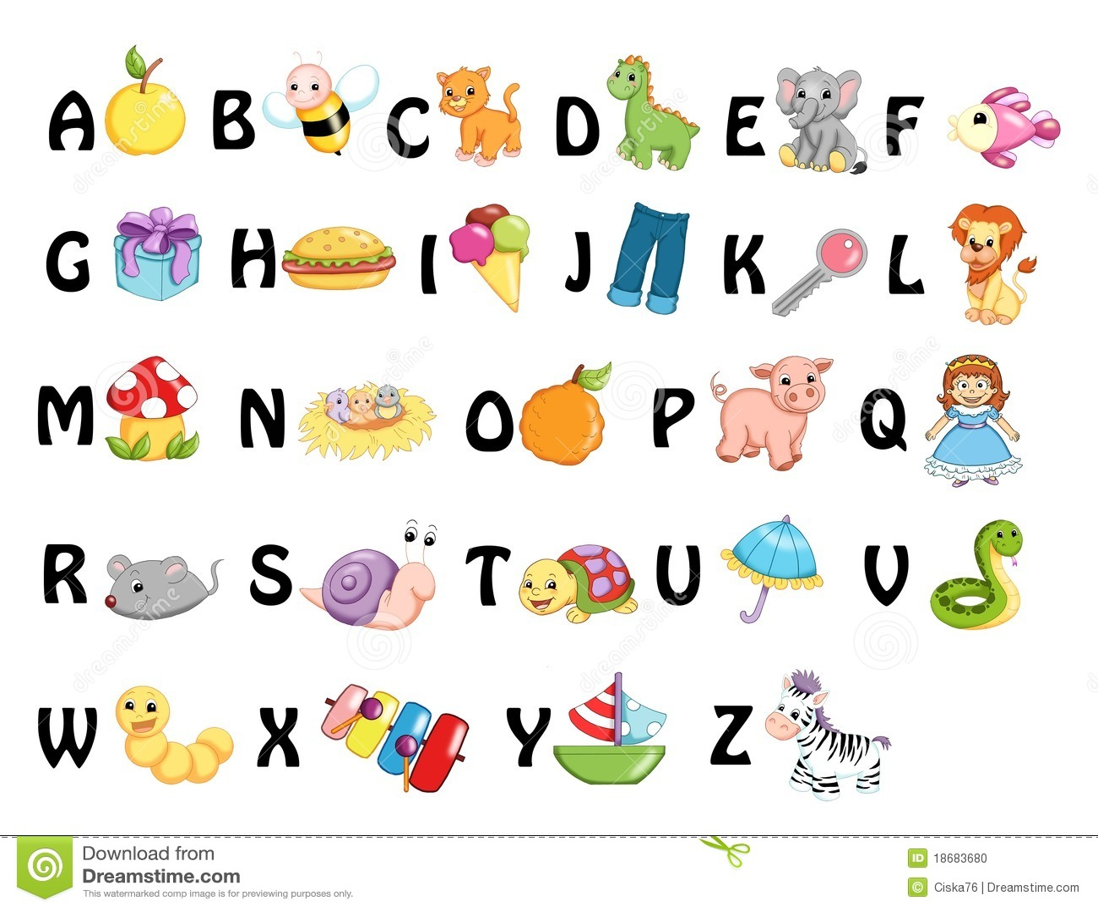 Alphabet Stock Illustration Illustration Of Elements