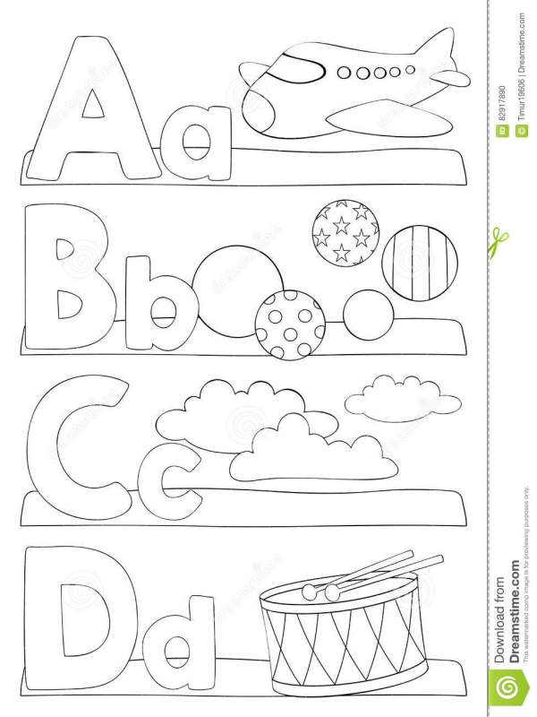 coloring pages letters # 16