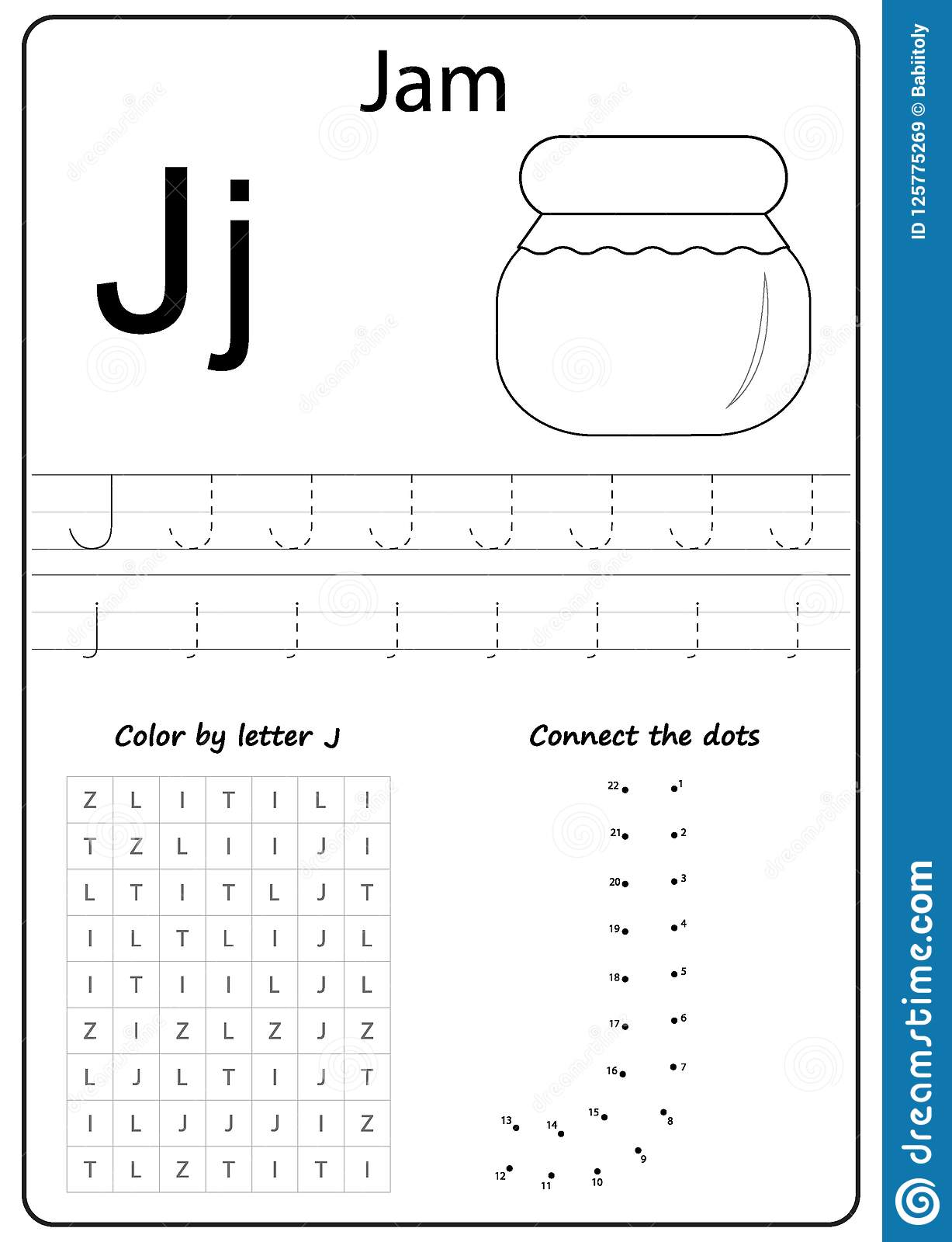 J Is For Jaguar Worksheet