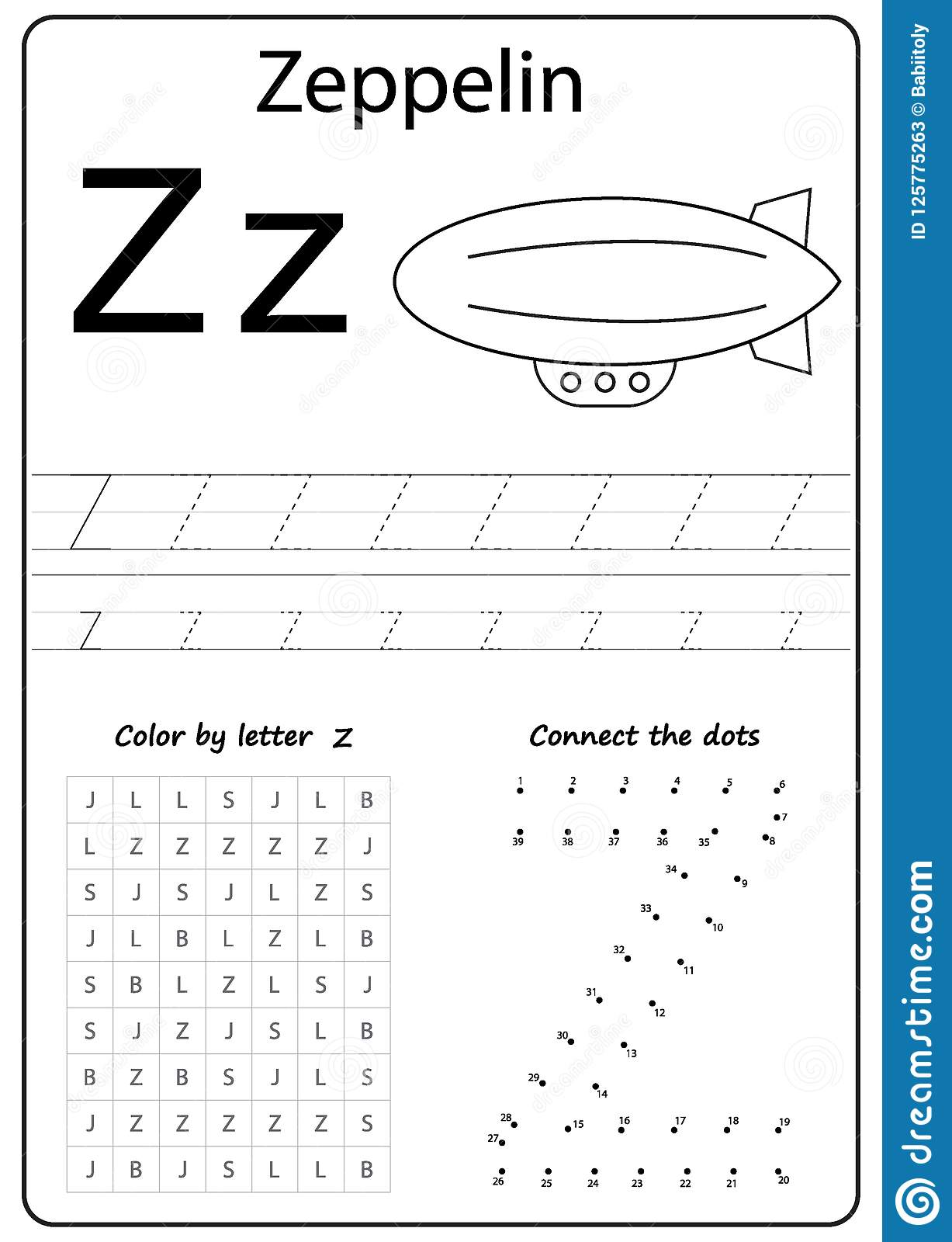 Letter Id Worksheets