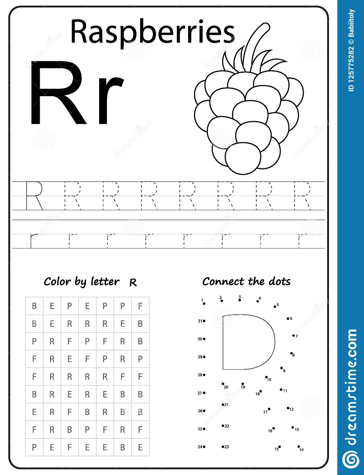 R Letter Find Worksheet