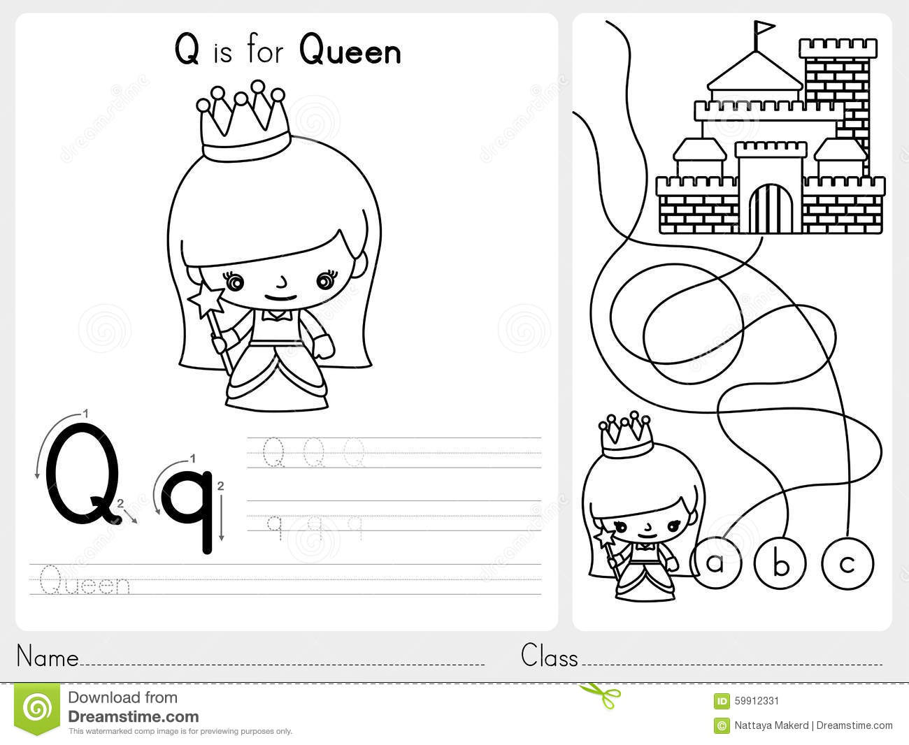 Alphabet Worksheet Review