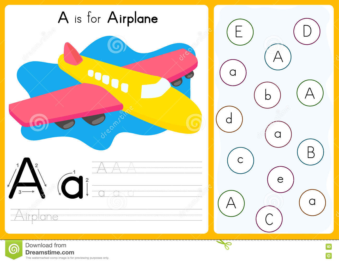 Alphabet A Z Tracing And Puzzle Worksheet Exercises For