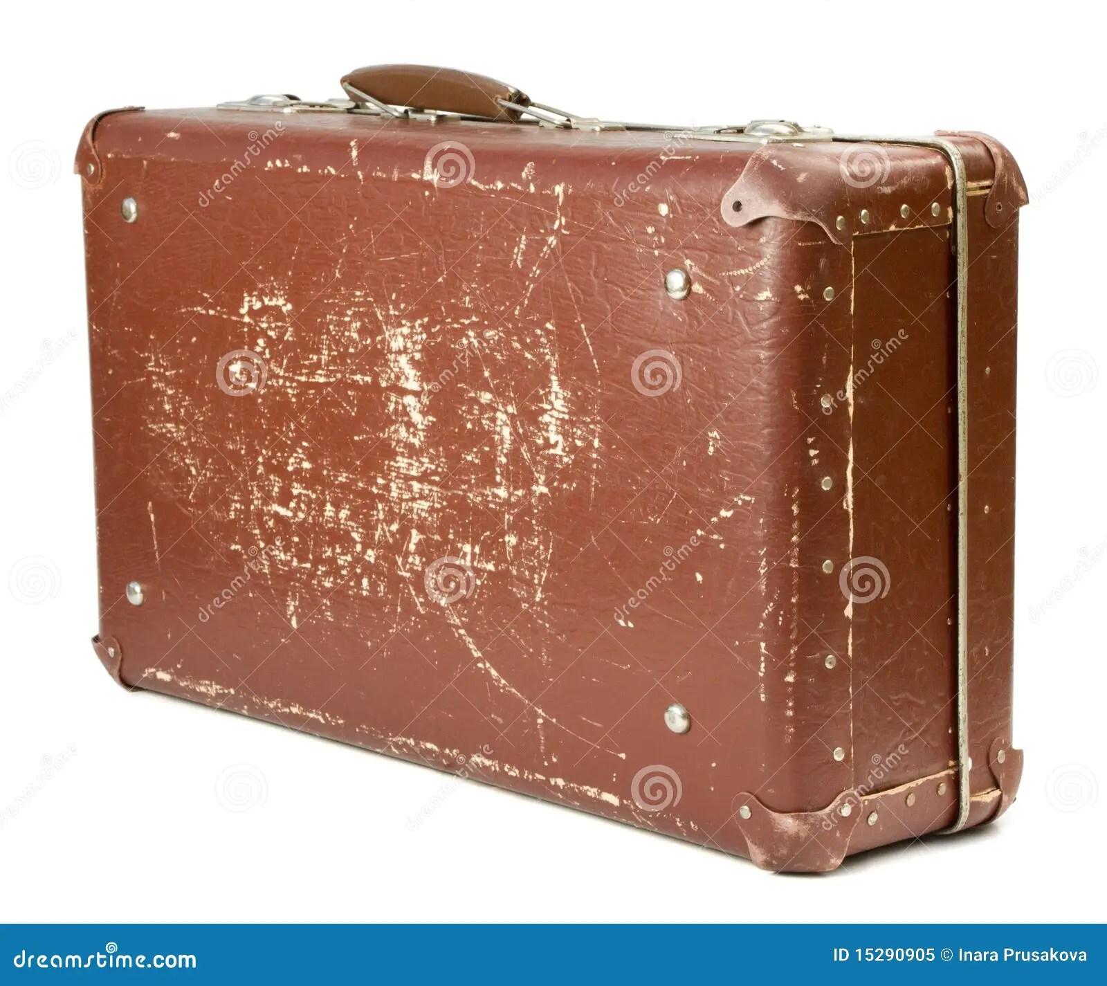 Alter Koffer Stockbild Bild Von Retro Falsch