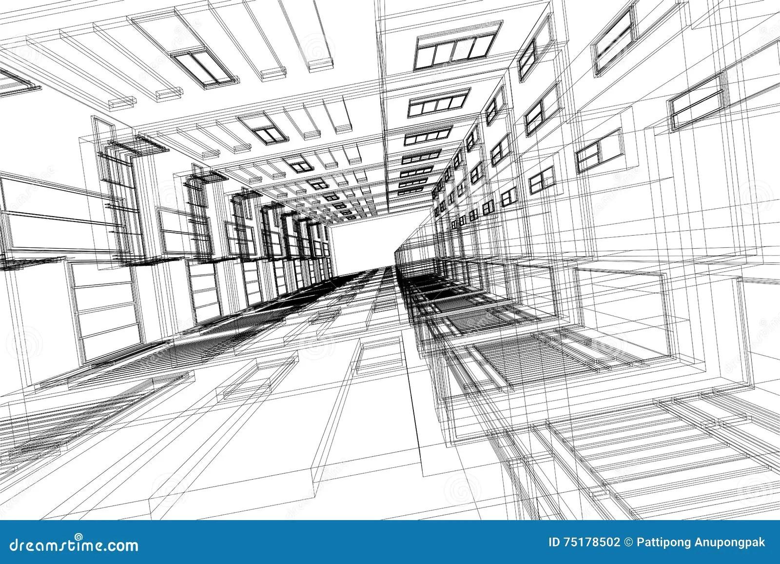 Alto Extracto De La Arquitectura De La Estructura De