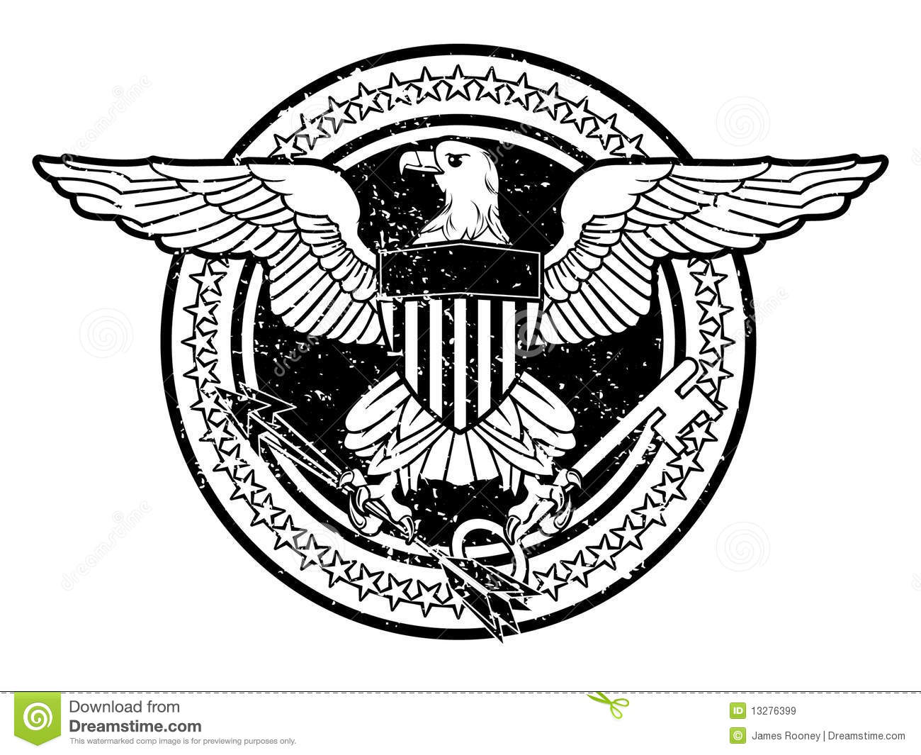 American Eagle Royalty Free Stock Images