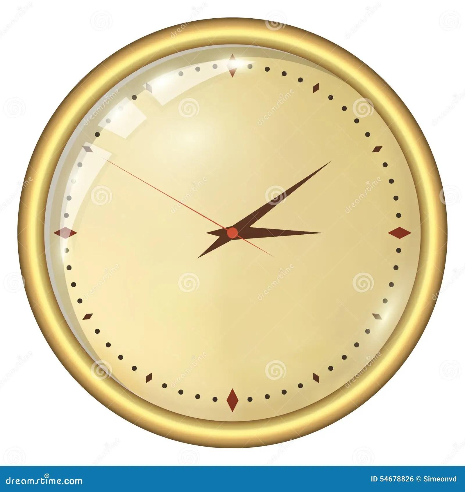 Og Clock Stock Vector