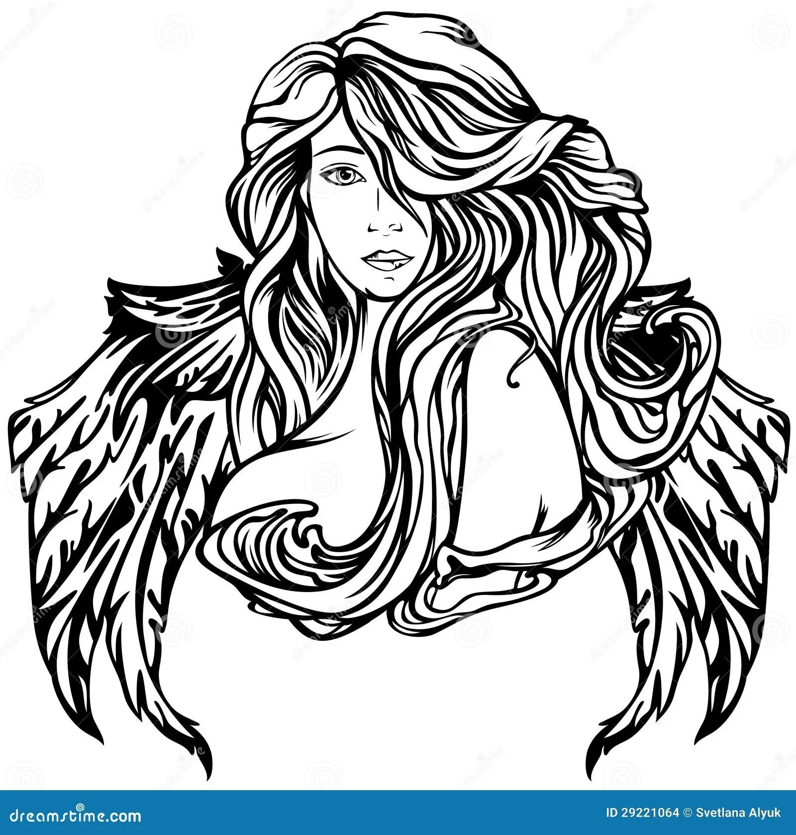 Angel Stock Vector Illustration Of Fine Christian