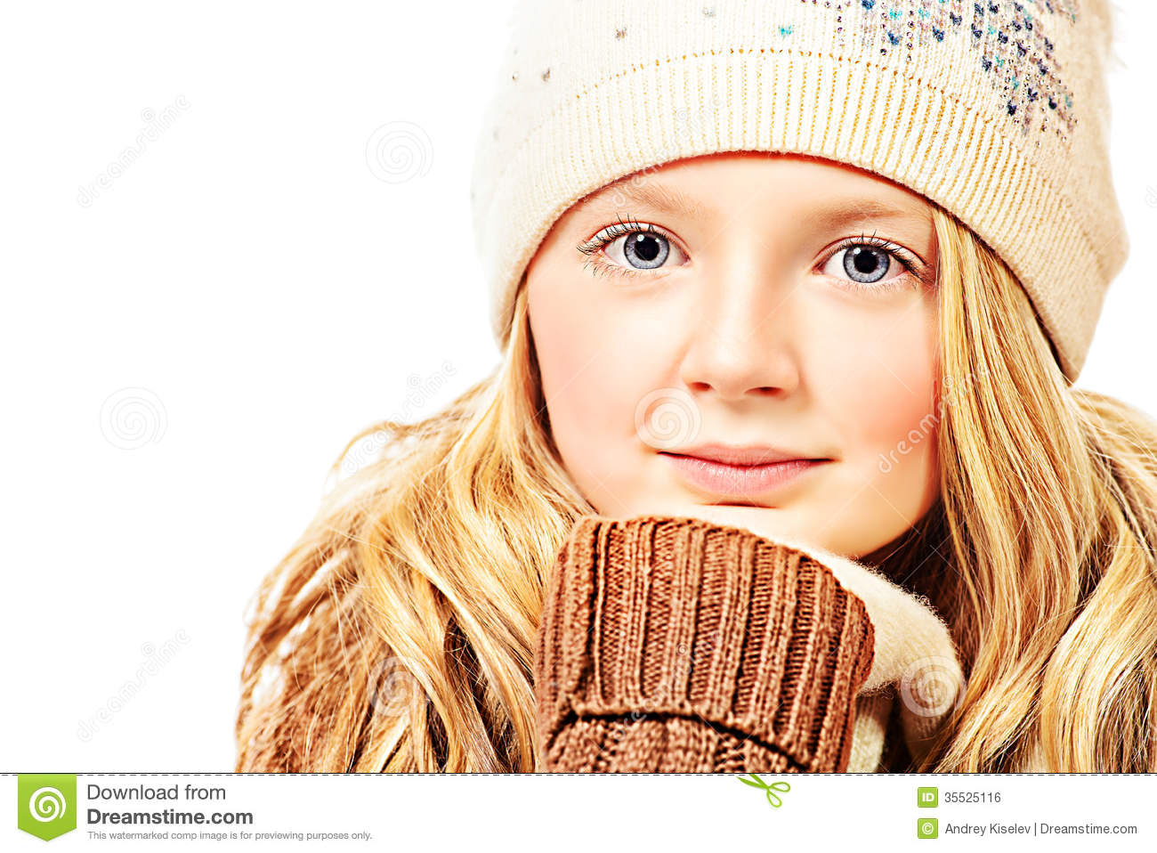 Angelic Appearance Royalty Free Stock Image Image 35525116