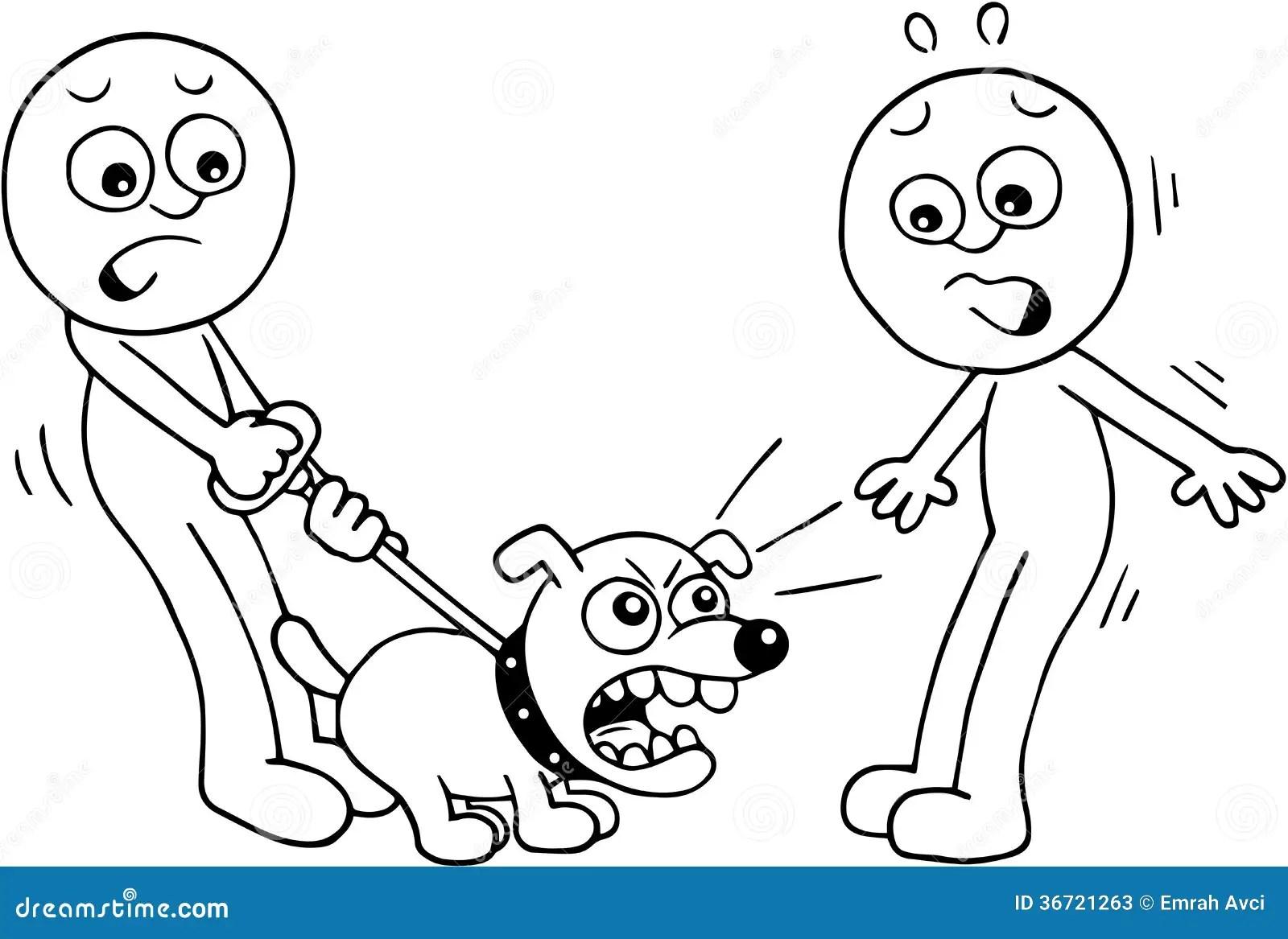 Angry Dog Barking Stock Illustration Illustration Of Dogs