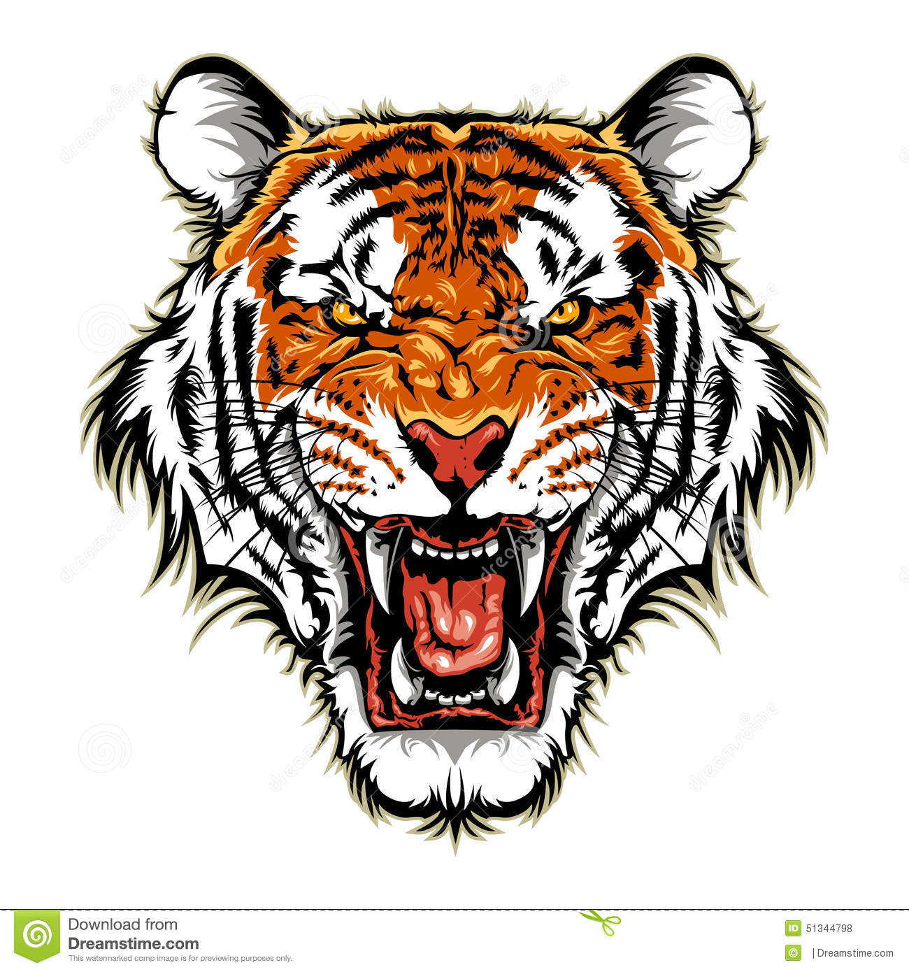 Tiger Head Design
