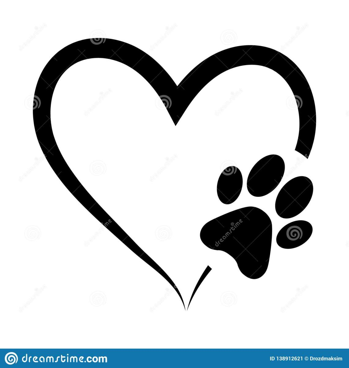 Download Free Svg Heart Paw - Paw heart | Etsy / A nearly perfect ...