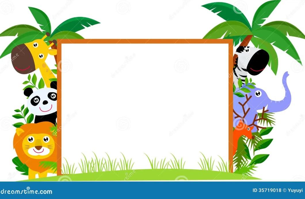 Jungle Theme Photo Frame | Siteframes.co