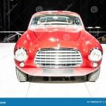 Antiguo Supercoche Clasico Rojo Ferrari 340 America Ghia 1951 En Bruselas Motor Show Dream Cars Rock N Roll Clasicos Foto Editorial Imagen De Show Clasicos 168056721
