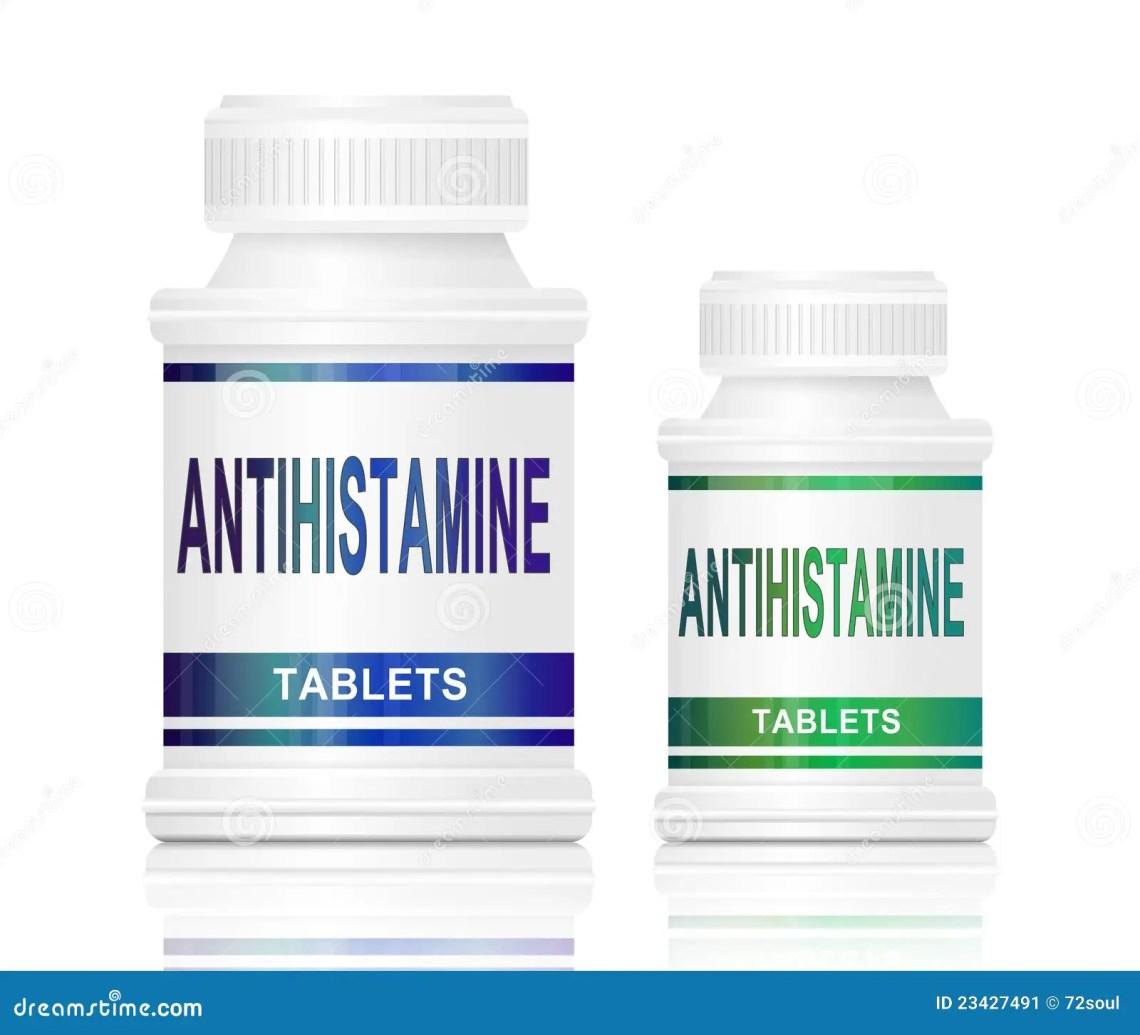 Antihistamine Pills antihistamine medication . stock image - image ...