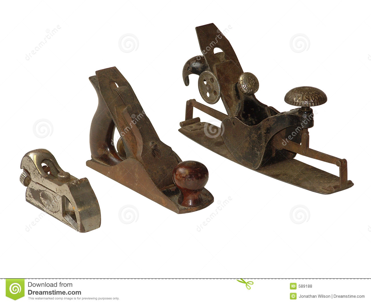 Antique Planes Stock Photo Image Of Wood Woodcraft