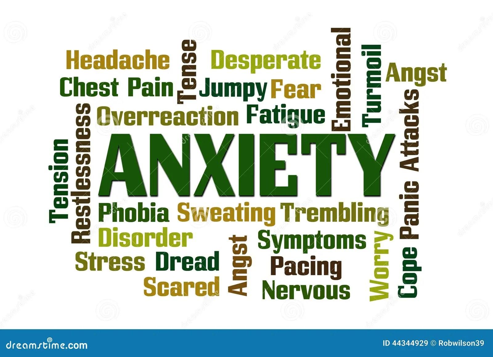 Anxiety Stock Illustration Illustration Of Emotional