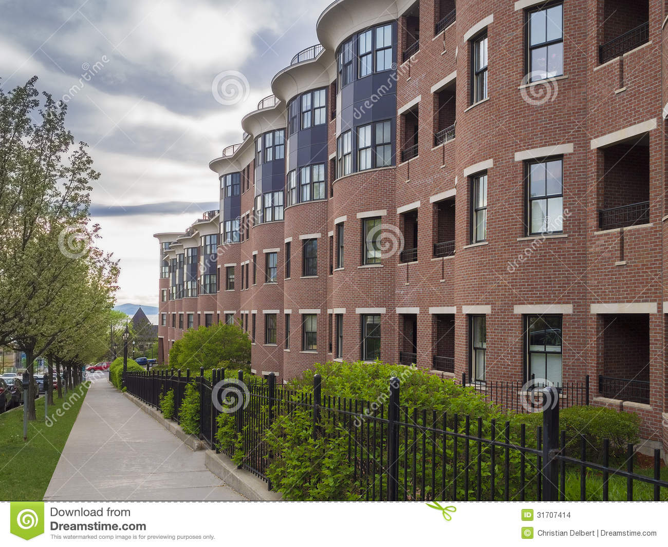 Apartment Building Stock Images Image 31707414