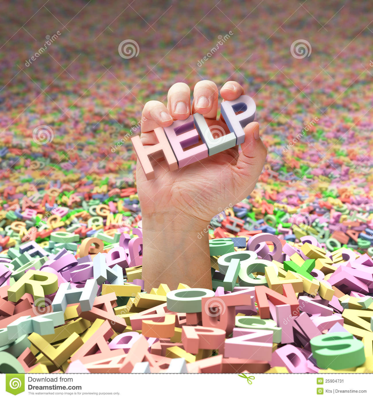 Asking For Help Stock Image Image Of Letter Help Plunge